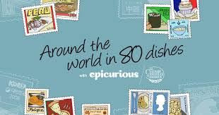 epicurious around the world in 80 dishes series