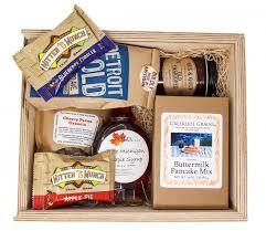 breakfast gift baskets michigan breakfast gift box
