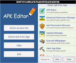 how to use apk files on android how to clone any android app with apk editor the genesis of tech