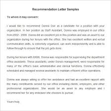 ideas collection letter of recommendation from former employer