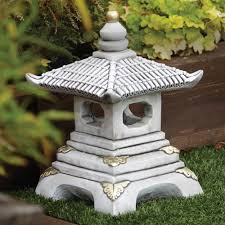 one tier japanese pagoda lantern garden ornament buy now