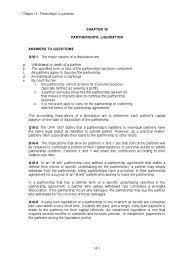 chapter 16 solution manual partnership balance sheet