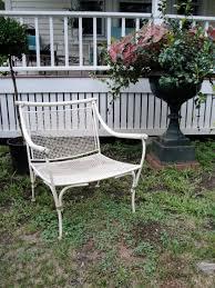 Vintage Wrought Iron Patio Furniture by Antique And Vintage Garden Furniture Plain U0026 Elegant Antiques