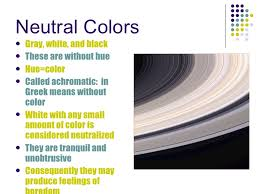 Neutral Color Color Power Point