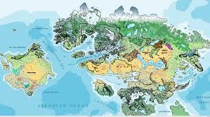 Northern Hemisphere Map Atlas World Of Asdar