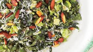 kale and brussels sprout salad recipe bon appetit