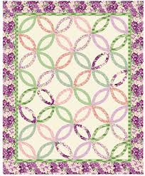 Double Wedding Ring Quilt by Quilt Inspiration Wedding Ring Quilt Inspiration And Free Patterns