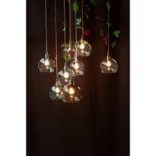 small glass pendant lights clear globe hanging ceiling pendant light long drop for high ceilings