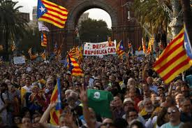 catalonia stops short of declaring independence amid fears that