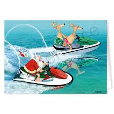 nautical christmas cards jet ski christmas card stonehouse collection
