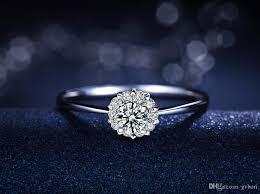 real diamond rings images 2018 heart jewelry real diamond rings fashion design 18k white jpg