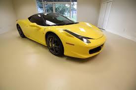 Ferrari 458 Yellow - 2011 ferrari 458 italia seriously loaded car msrp was 302000