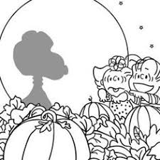 charlie brown coloring halloween printable u0027s kids