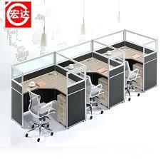 Workstation Computer Desk Office Desk Simple Office Desk Double Workstation Computer With