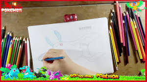 learn draw cute pokemon oggy cockroaches coloring pages