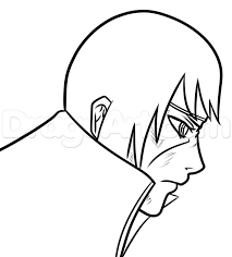 how to draw an anime face profile step by step anime heads