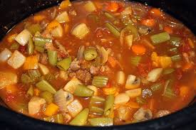 easy crock pot vegetable soup the journey of two