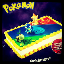Pokemon Birthday Cake You Can Custom Order At Price Chopper