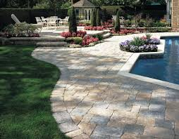 Stone Decks And Patios by Stone Patio Ideas With Fire Pit Vintage Flooring Styles With