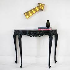 Black Console Table Sassy Boo Small Black Console Table French Console Tables