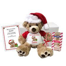 personalized stuffed hippopotamus for christmas gift set plush