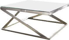 brushed nickel coffee table modern contemporary brushed nickel coffee table allmodern