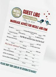 wedding quotes pdf wedding mad libs pdf file print yourself by camispaperie