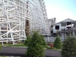 Texas Giant Six Flags Cyclone Construction Update 3 Six Flags New England
