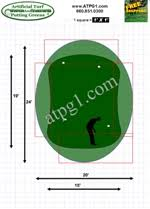 Backyard Putting Green Designs by Backyard Putting Green Designs Putting Green Wholesale Nylon
