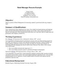 Retail Resume Example by Examples Of Resumes 81 Interesting Easy Resume Basic For Jobs