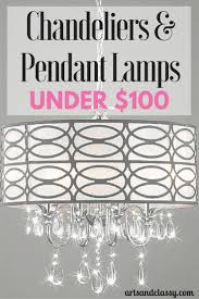 Chandeliers Under 50 by Chandelier And Pendant Lamps For Under 100 Pendant Lamps