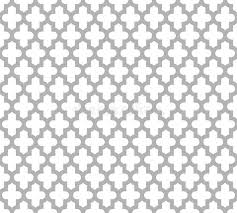 moroccan islamic seamless pattern background in grey and white