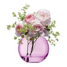 Vase With Roses Buy Lsa International Polka Vase Rose Pink Amara