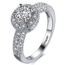 womens engagement rings fendina womens wedding engagement ring classic