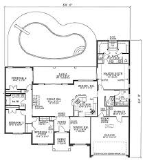 single story house plans with great room homepeek