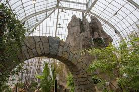 Erie Botanical Gardens Tranquil New Exhibits Transform Botanical Gardens The Buffalo News