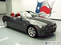 07 bmw 335i turbo 2007 bmw 3 series 335i convertible turbo auto htd leather for sale