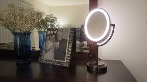 conair chrome magnifying countertop vanity mirror with light astonishing conair vanity mirror mirror ideas conair vanity mirror