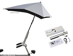 Chair Umbrellas With Clamp Give Your Bike A Brolly 30 Umbrella Clamp Keeps Cyclists Dry