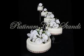 5 tier cake stand 5 tier cascade wedding cake stand style r500
