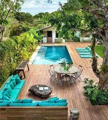 landscape around pool for privacy landscape around above ground