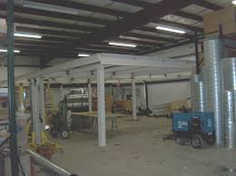 mezzanine fabrication services structural steel fabrication shop