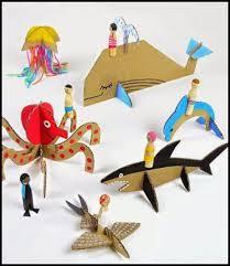 membuat mainan edukatif dari kardus mainan edukatif 3 dimensi dari kardus bekas inilah caranya
