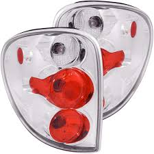 2005 dodge grand caravan tail light assembly chrysler dodge town caravan country tail lights left right pair