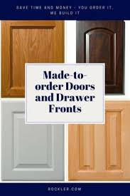 Made To Order Cabinet Doors Cherry Kitchen Cabinets With Gray Wall And Quartz Countertops