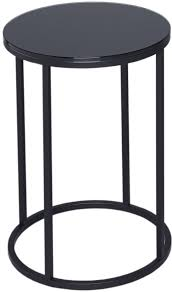 black and glass coffee table black glass side table round with black base
