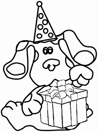 blues clues coloring pages painting coloringstar