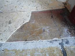 broken floor tiles in basement and sunroom flooring vinyl