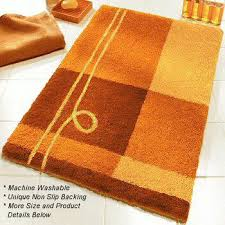 contemporary bright colored bath rugs in extra large sizes vita futura