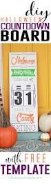 countdown to halloween calendar diy halloween countdown board
